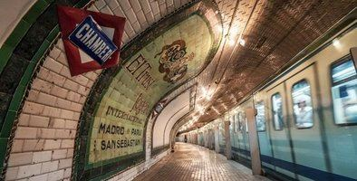 Tarde de miedo en la estación fantasma de Chamberí