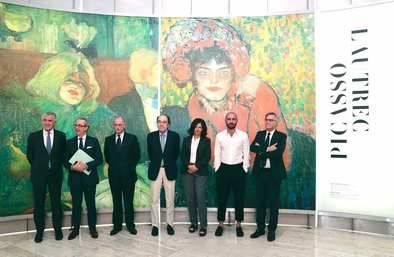 Una exposición dedicada a la relación artística entre Picasso y Lautrec