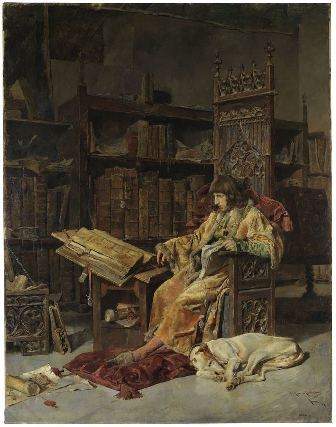 'El príncipe don Carlos de Viana', de José Moreno Carbonero. Óleo sobre lienzo. 310 x 242 cm. 1881 Madrid, Museo Nacional del Prado.