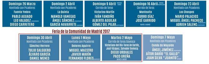 Primeros festejos y Feria de la Comunidad 2017.