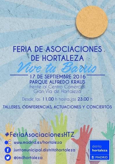 Feria de Asociaciones, el 17 de septiembre en Alfredo Kraus