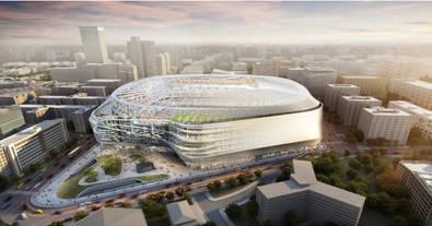 Así será el nuevo Bernabéu