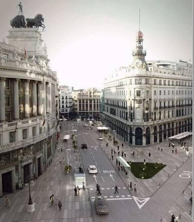 La remodelación de los aparcamientos de Canalejas, sin coste para los madrileños