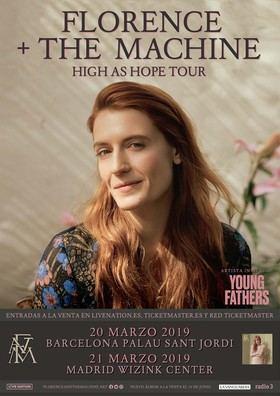 Florence + The Machine en concierto, en marzo, en el WiZink Centrer
