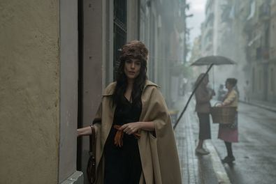 Adriana Ugarte en una imagen del tráiler de la nueva serie 'Hache'.