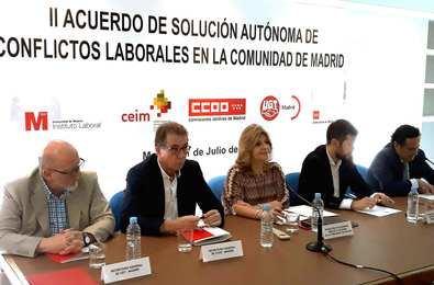 Hidalgo valora la eficacia del Instituto Laboral en la resolución de conflictos
