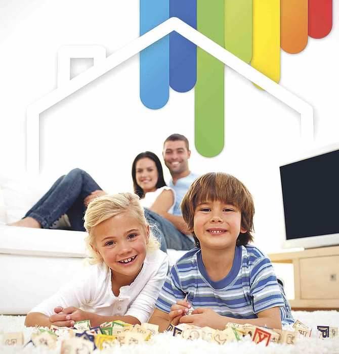 Una casa 'eco friendly', un hogar eficiente