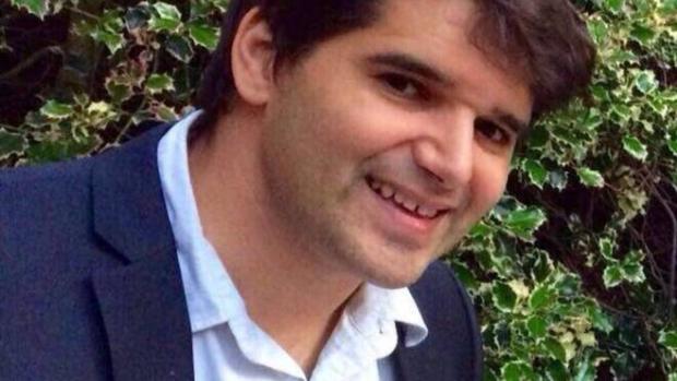 Ignacio Echeverría, el 'Héroe del monopatín'.