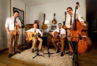 Manouche au Lait, uno de los grupos que actuarán en el Festival de Jazz.