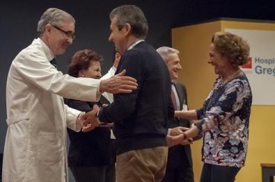 El Hospital Gregorio Marañón rindió homenaje a sus trabajadores jubilados.