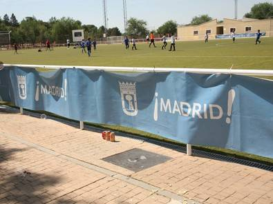 Puesta al día para 15 campos de fútbol