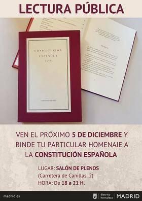 Celebración del Día de la Constitución