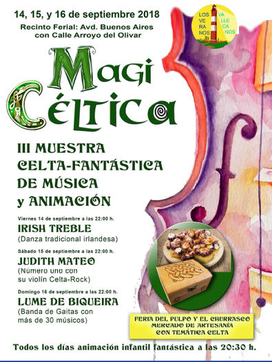 Festival Magi Céltica en Vallecas