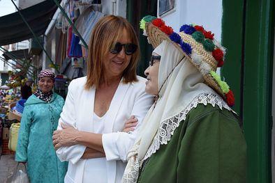 La memoria sentimental de María Dueñas con esta ciudad procede de su madre, nacida en Tetuán.