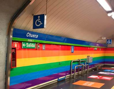 24 horas de metro para el World Pride 2017