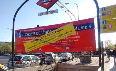La Línea 8 de Metro reabre el 12 de abril