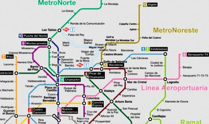 Propuestas de ampliación del metro
