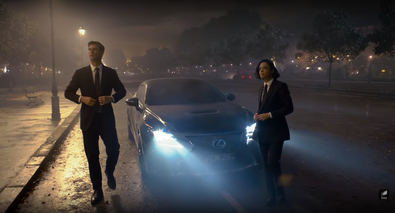 El Lexus RC brilla como nunca en el filme 'Men in black'