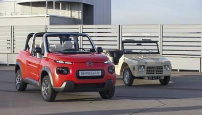 Citroën E-Méhari: el icono de los setenta vuelve con fuerza como vehículo eléctrico