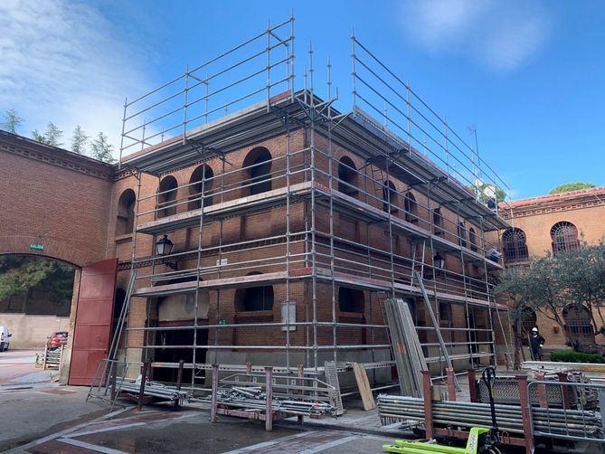 La Comunidad de Madrid ha comenzado las obras en la plaza de Las Ventas.
