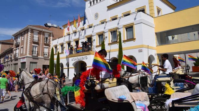 Nancys Rubias y Mario Vaquerizo inauguran en San Sebastián de los Reyes el Orgullo LGTBi de la zona norte