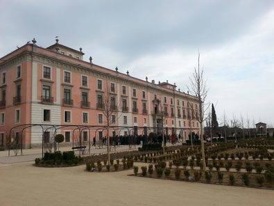 Foto de archivo del Palacio del Infante don Luis