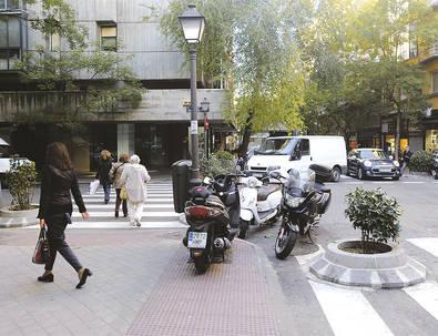 De paseo entre Alcalá y General Oráa
