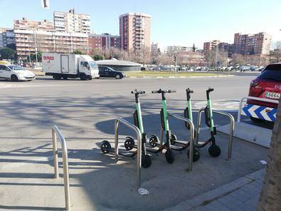 Los patinetes eléctricos desembarcan en Hortaleza