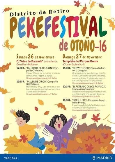 Festival para los 'pekes' en Retiro