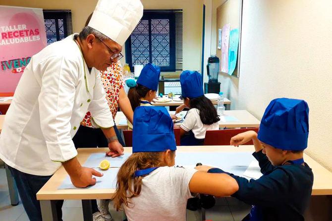 Se celebrarán talleres de cocina para los más pequeños