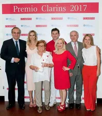 Premio Clarins 2017 y donativo Aldeas Infantiles SOS