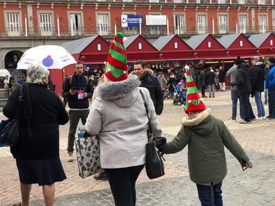 Pulseras para no perder al niño en Navidad