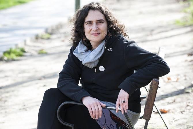 Raquel Anula, portavoz de Ahora Madrid en Hortaleza.