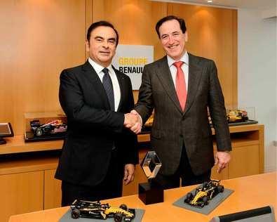 Mapfre refuerza su acuerdo con Renault para convertirse en uno de los patrocinadores principales del equipo en Fórmula 1