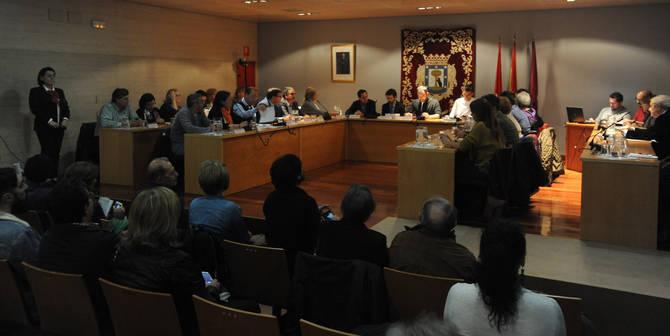 Imagen de archivo del Pleno de Retiro.