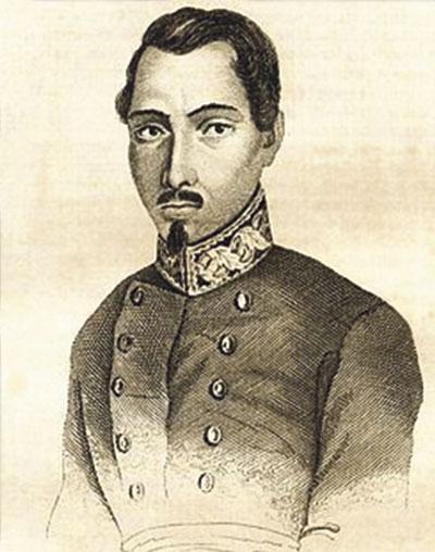 Ramón Pardiñas alcanzó en sus 36 años de vida (1802-1838) la máxima jerarquía militar. Murió en combate, en Maella.