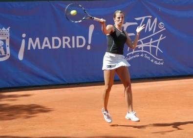La tenista madrileña Rocío de la Torre
