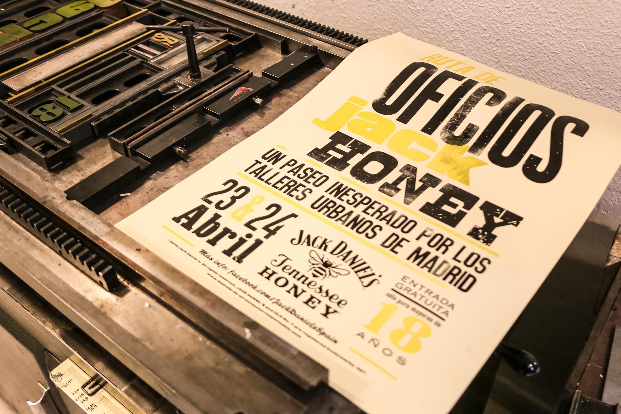 Ruta de oficios Jack Honey, un paseo inesperado por los talleres urbanos