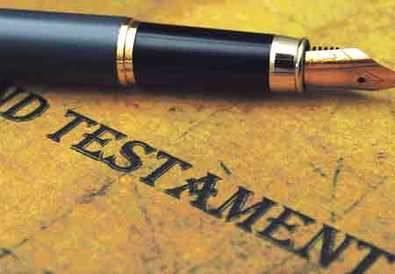 Cinco cosas que tal vez no sabías sobre los testamentos