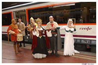 Súbete al Tren Medieval esta primavera
