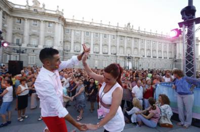 Las calles de Madrid se convierten en escenarios durante el verano