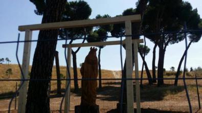 La Virgen se queda en Valdebebas