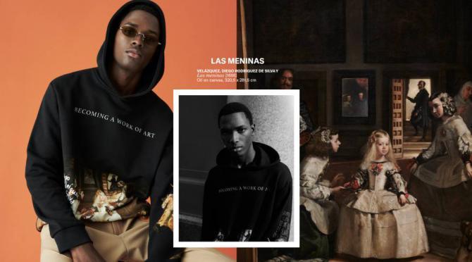 La colección está compuesta por cuatro camisetas y tres sudaderas de hombre.